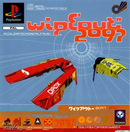PlayStation Games - Wipeout XL