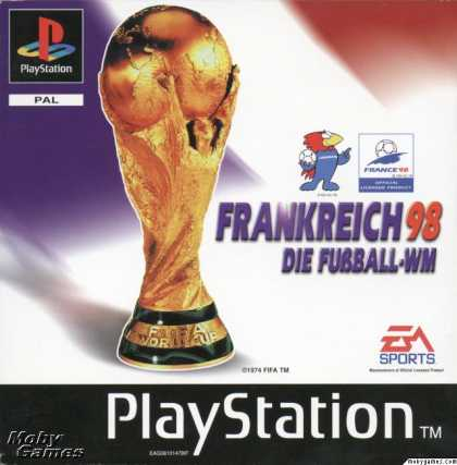 PlayStation Games - World Cup 98