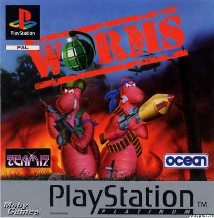 PlayStation Games - Worms