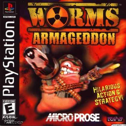 PlayStation Games - Worms Armageddon