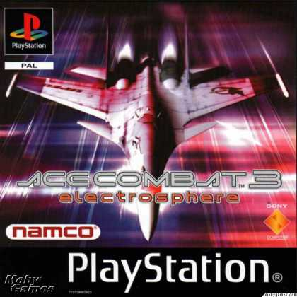 PlayStation Games - Ace Combat 3: Electrosphere