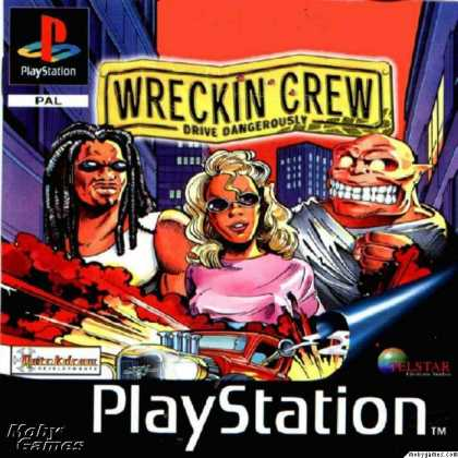 PlayStation Games - Wreckin Crew