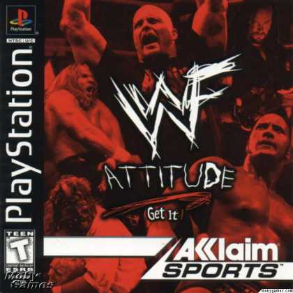 PlayStation Games - WWF Attitude