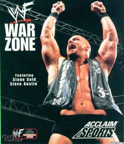 PlayStation Games - WWF War Zone
