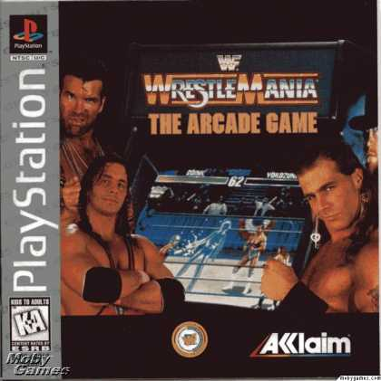 PlayStation Games - WWF Wrestlemania: The Arcade Game