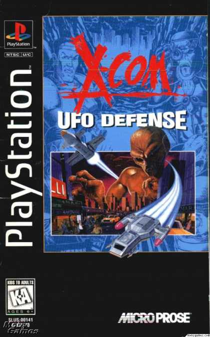 PlayStation Games - X-COM: UFO Defense