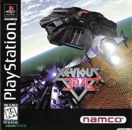 PlayStation Games - Xevious 3D/G+