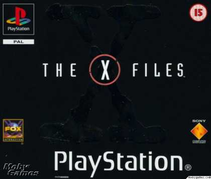 PlayStation Games - The X-Files Game