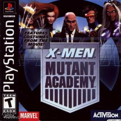 PlayStation Games - X-Men: Mutant Academy