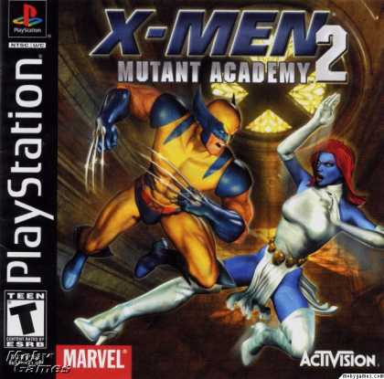 PlayStation Games - X-Men: Mutant Academy 2