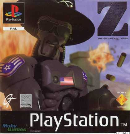 PlayStation Games - Z
