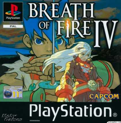 PlayStation Games - Breath of Fire IV