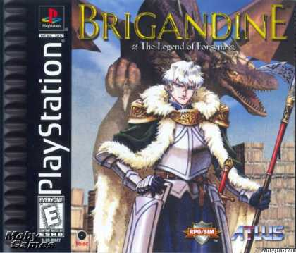 PlayStation Games - Brigandine: The Legend of Forsena