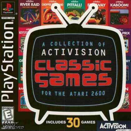 PlayStation Games - A Collection of Activision Classic Games for the Atari 2600