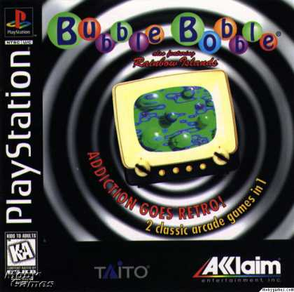 PlayStation Games - Bubble Bobble also featuring Rainbow Islands