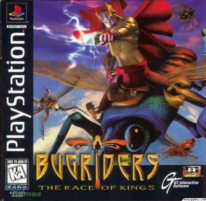 PlayStation Games - BugRiders: The Race of Kings