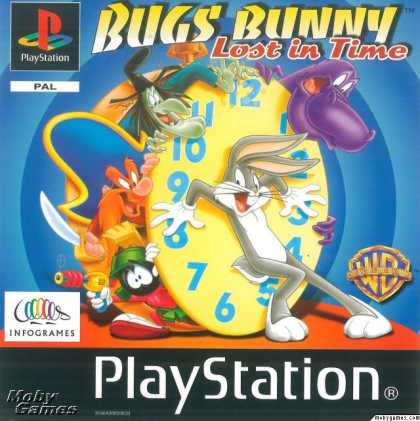 PlayStation Games - Bugs Bunny Lost in Time