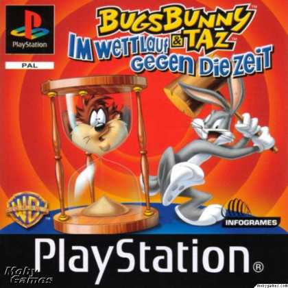 PlayStation Games - Bugs Bunny & Taz: Time Busters