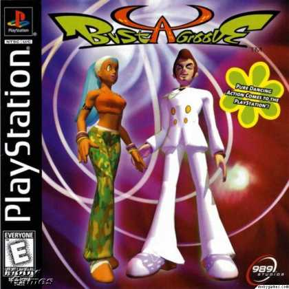 PlayStation Games - Bust A Groove