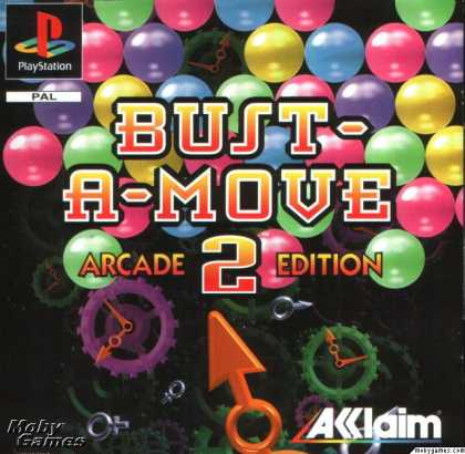 PlayStation Games - Bust-A-Move 2: Arcade Edition