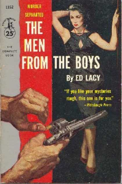 Pocket Books - The Men From the Boys - Ed Lacy