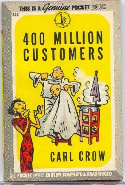 Pocket Books - 400 Million Customers - Carl Crow