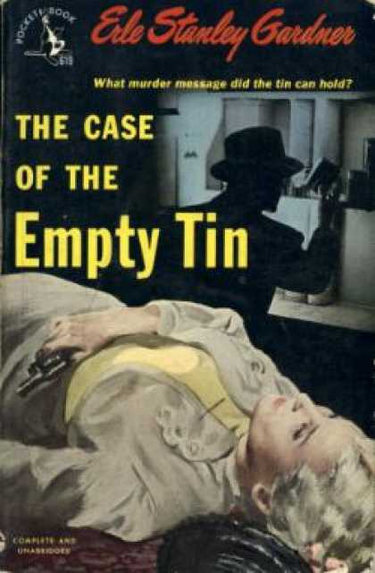 Pocket Books - The Case of the Empty Tin - Erle Stanley Gardner