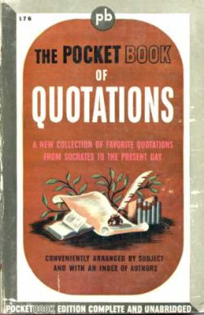 Pocket Books - The Pocket Book of Quotations - Henry Davidoff
