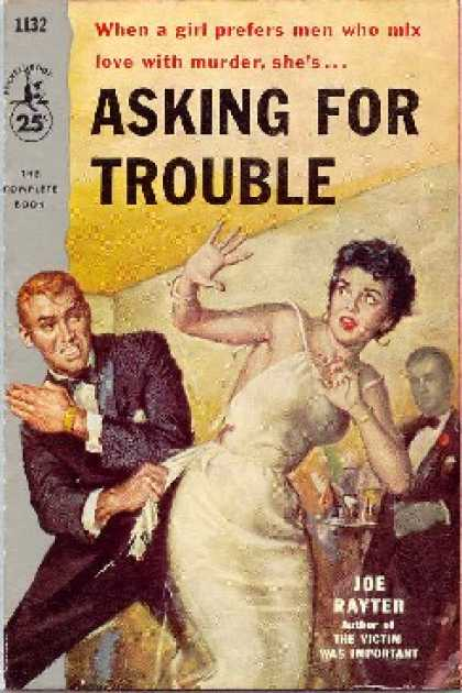Pocket Books - Asking for Trouble - Joe Rayter (aka Mary Mcchesney)