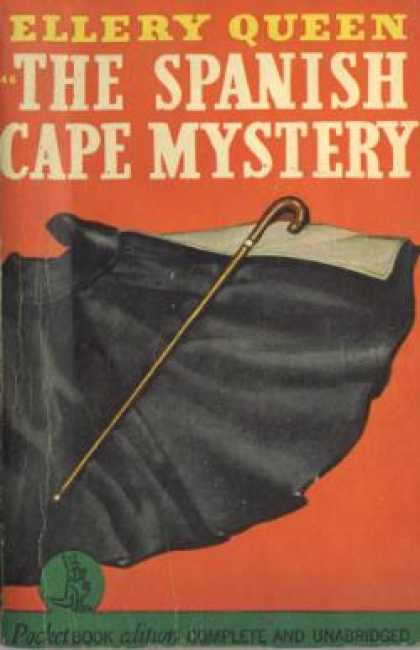 Pocket Books - Spanish Cape Mystery - Ellery Queen