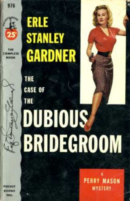 Pocket Books - The Case of the Dubious Bridegroom