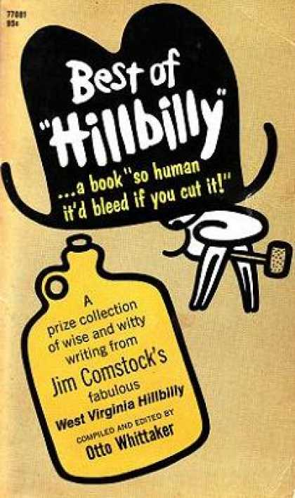 Pocket Books - Best of Hillbilly: A Prize Collection of 100-proof Writing From Jim Comstock's W