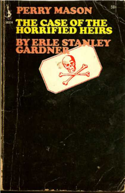 Pocket Books - Perry Mason Solves the Case of the Horrified Heirs - Erle Stanley Gardner