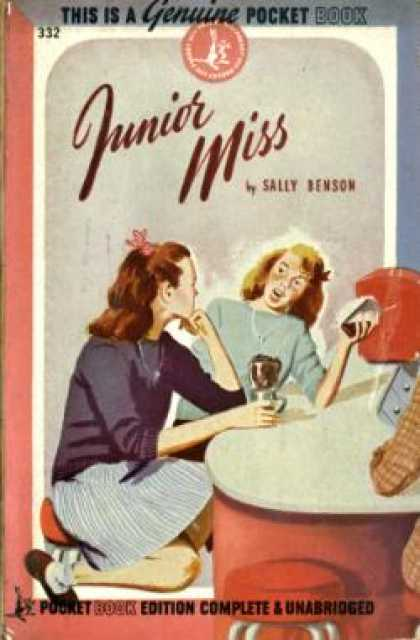 Pocket Books - Junior Miss - Sally Benson