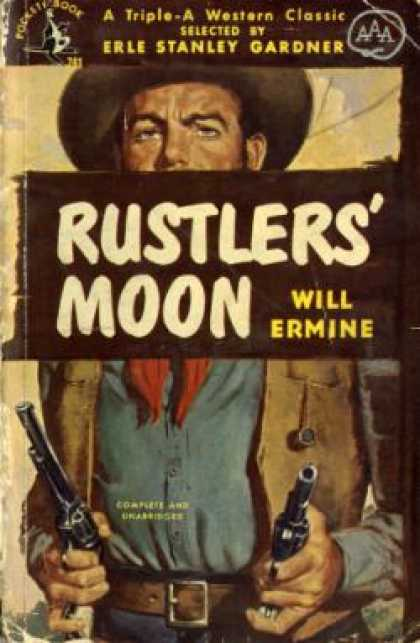 Pocket Books - Rustlers' Moon