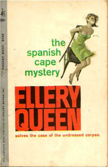 Pocket Books - The Spanish Cape Mystery - Ellery Queen