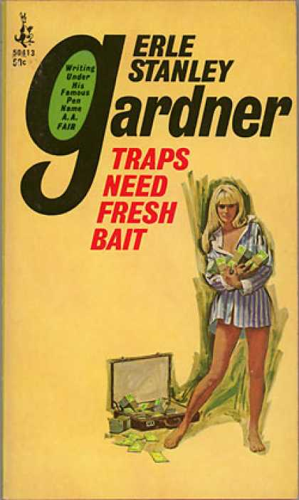 Pocket Books - Traps Need Fresh Bait - A. A. Fair (pseud. Erle Stanley Gardner)