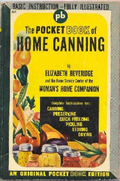 Pocket Books - The Pocket Book of Home Canning - Elizabeth Beveridge