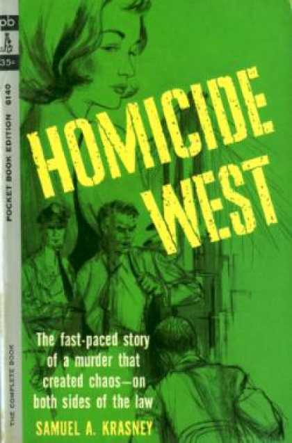 Pocket Books - Homicide West