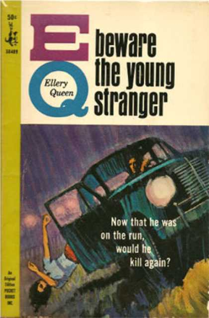 Pocket Books - Beware the Young Stranger/ the Killers Touch - Ellery Queen