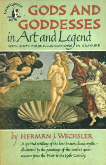 Pocket Books - Gods and Goddesses In Art and Legend - Herman J. Wechsler