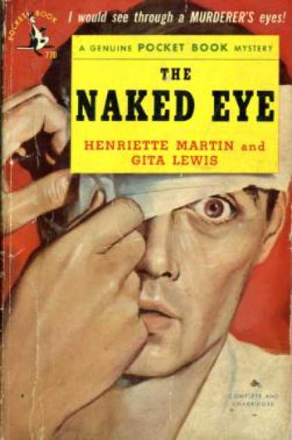 Pocket Books - The Naked Eye - Henriette Martin