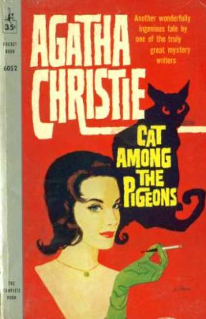 Pocket Books - Cat Among the Pigeons - Agatha Christie