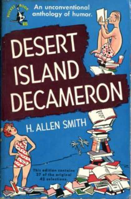 Pocket Books - Desert Island Decameron - H. Allen Smith