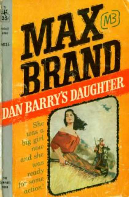 Pocket Books - Dan Barrys Daughter - Max Brand