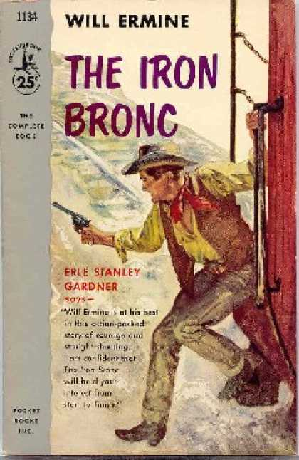 Pocket Books - The Iron Bronc - Will; Gardner, Erle Stanley Ermine