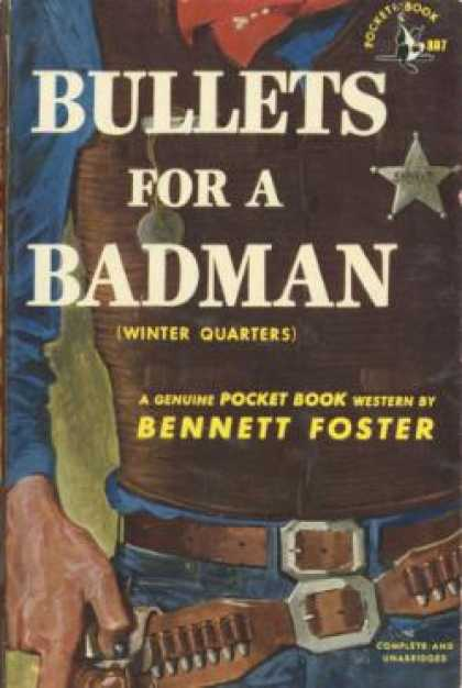 Pocket Books - Bullets for a Badman - Bennett Foster