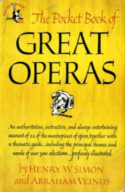 Pocket Books - The Pocket Book of Great Operas