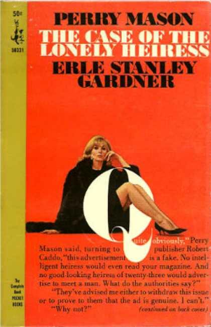Pocket Books - The Case of the Lonely Heiress - Erle Stanley Gardner