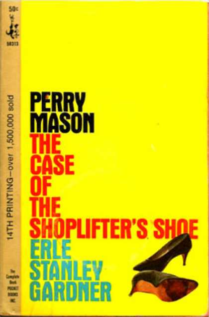 Pocket Books - Perry Mason : The Case of the Shoplifter's Shoe